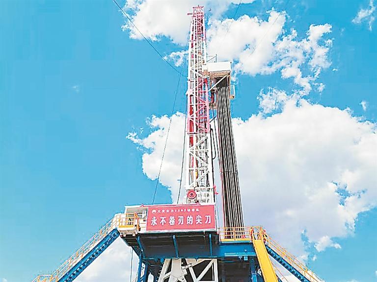 單日最高進尺575米